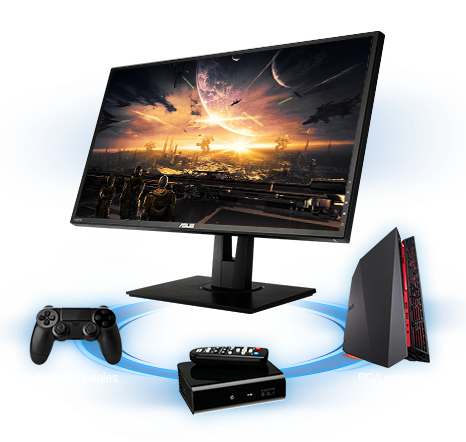 best gaming console monitor